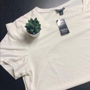 NWT White Torrid Shirt